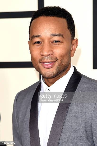 Singer John Legend attends The 57th Annual GRAMMY Awards at the STAPLES Center on February 8 2015 in Los Angeles California