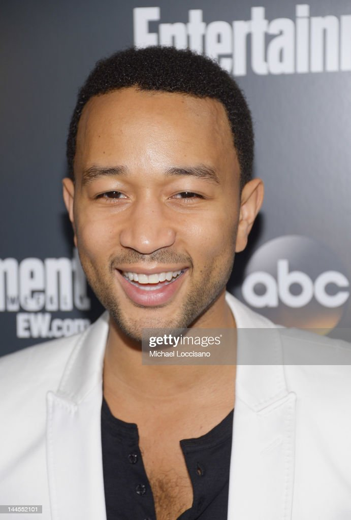 Singer John Legend attends the Entertainment Weekly & ABC-TV Up Front VIP Party at Dream Downtown on May 15, 2012 in New York City.
