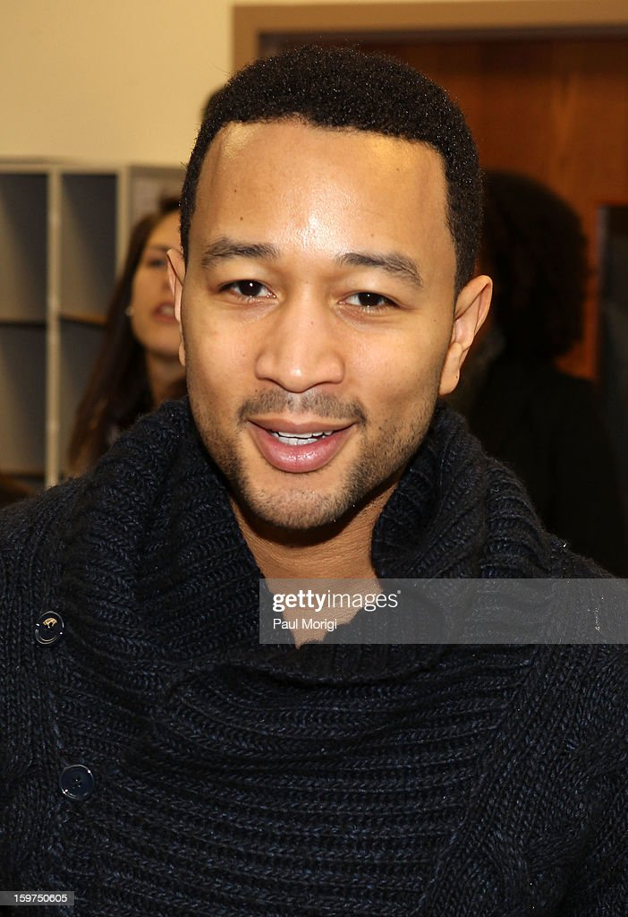 Singer <a gi-track='captionPersonalityLinkClicked' href=/galleries/search?phrase=John+Legend&family=editorial&specificpeople=201468 ng-click='$event.stopPropagation()'>John Legend</a> attends 'The House I Live In' Washington DC Screening And Performance By <a gi-track='captionPersonalityLinkClicked' href=/galleries/search?phrase=John+Legend&family=editorial&specificpeople=201468 ng-click='$event.stopPropagation()'>John Legend</a> at Shiloh Baptist Church on January 19, 2013 in Washington, DC.