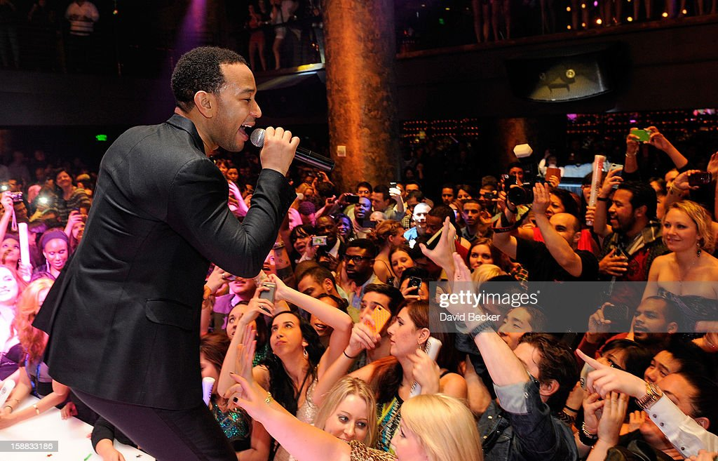 Singer <a gi-track='captionPersonalityLinkClicked' href=/galleries/search?phrase=John+Legend&family=editorial&specificpeople=201468 ng-click='$event.stopPropagation()'>John Legend</a> performs at Haze Nightclub at the Aria Resort & Casino at CityCenter on December 30, 2012 in Las Vegas, Nevada.