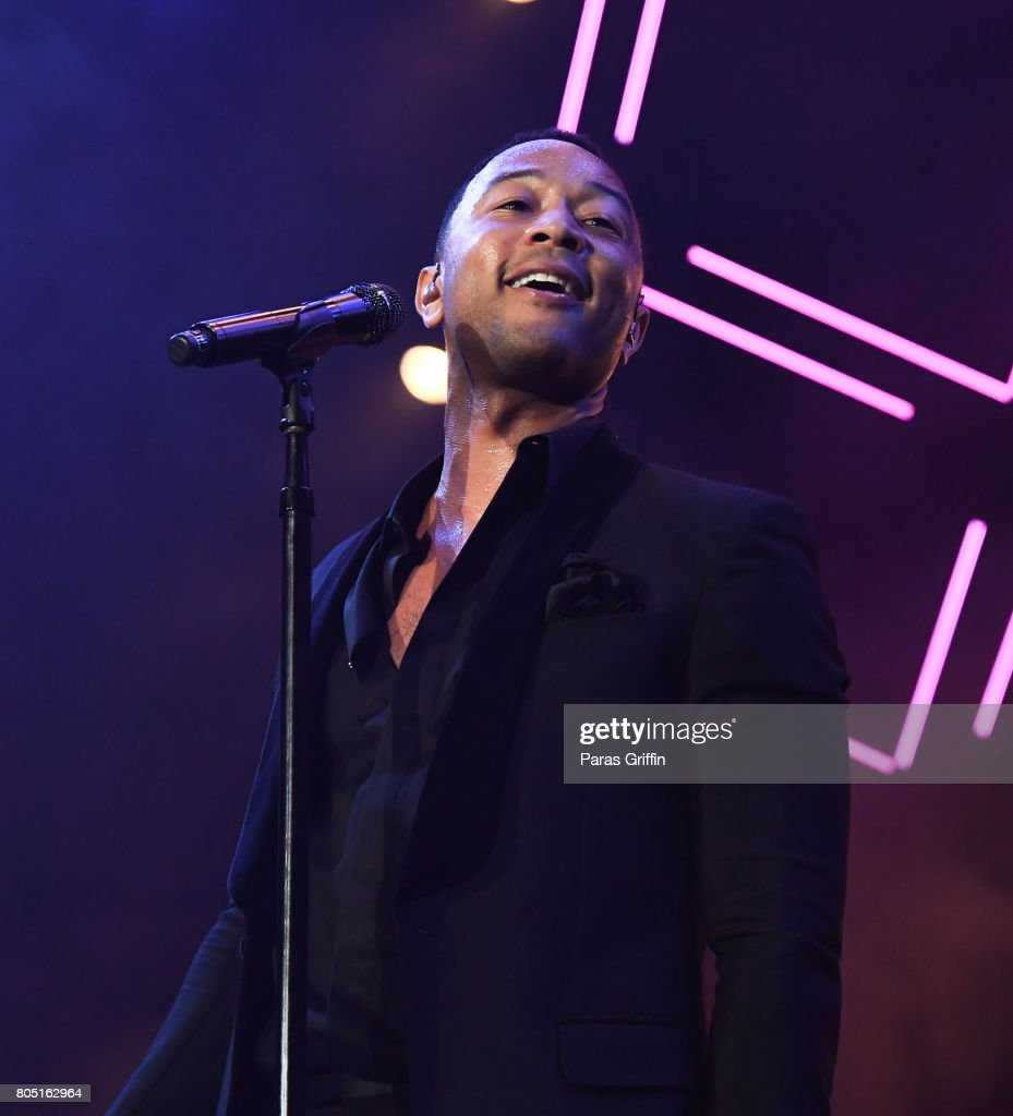 Singer John Legend performs onstage at 2017 Essence Festival at Mercedes-Benz Superdome on June 30, 2017 in New Orleans, Louisiana.