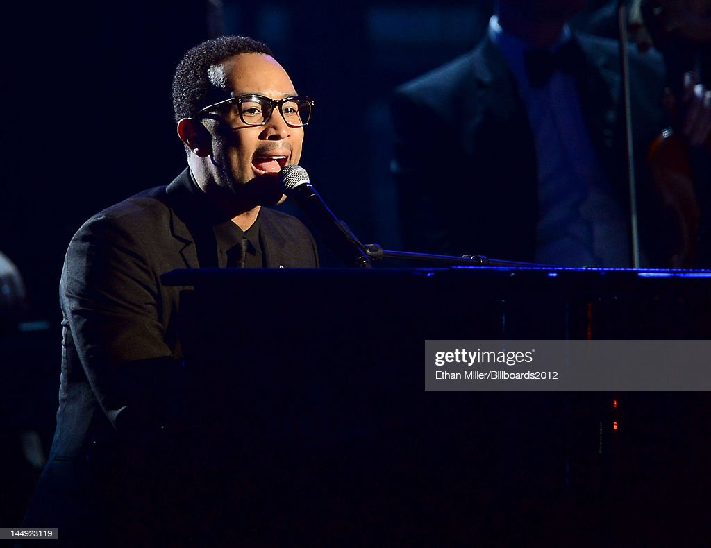 Singer <a gi-track='captionPersonalityLinkClicked' href=/galleries/search?phrase=John+Legend&family=editorial&specificpeople=201468 ng-click='$event.stopPropagation()'>John Legend</a> performs onstage at the 2012 Billboard Music Awards held at the MGM Grand Garden Arena on May 20, 2012 in Las Vegas, Nevada.