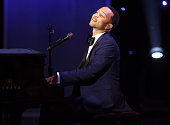 Singer John Legend winner of the President's Award performs onstage during the 47th NAACP Image Awards presented by TV One at Pasadena Civic...