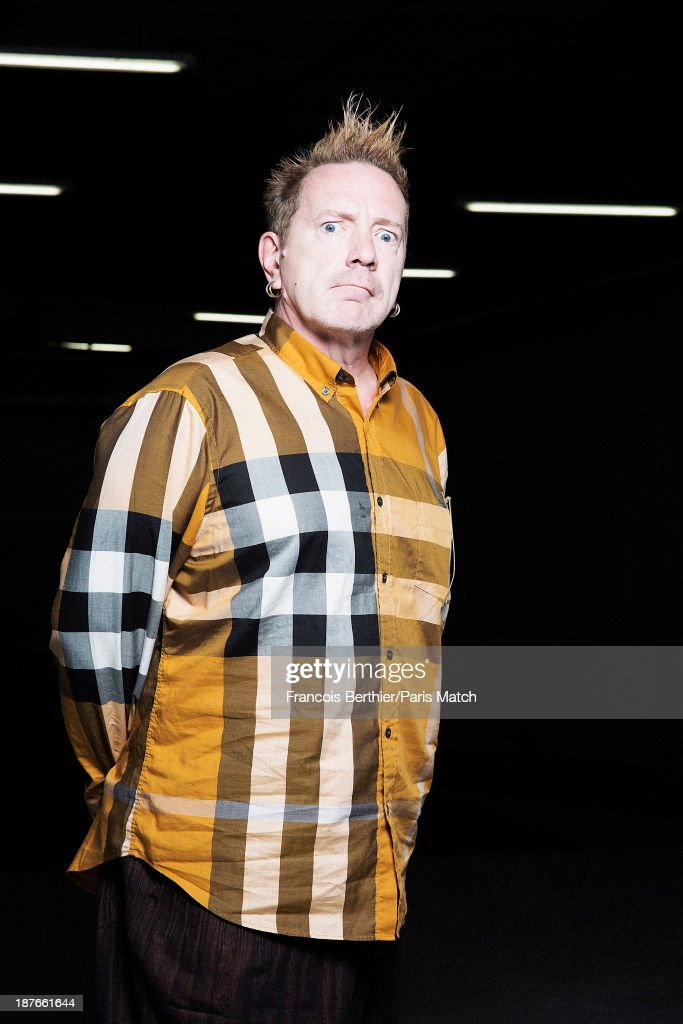John Lydon, Paris Match Issue 3364, November 13, 2013