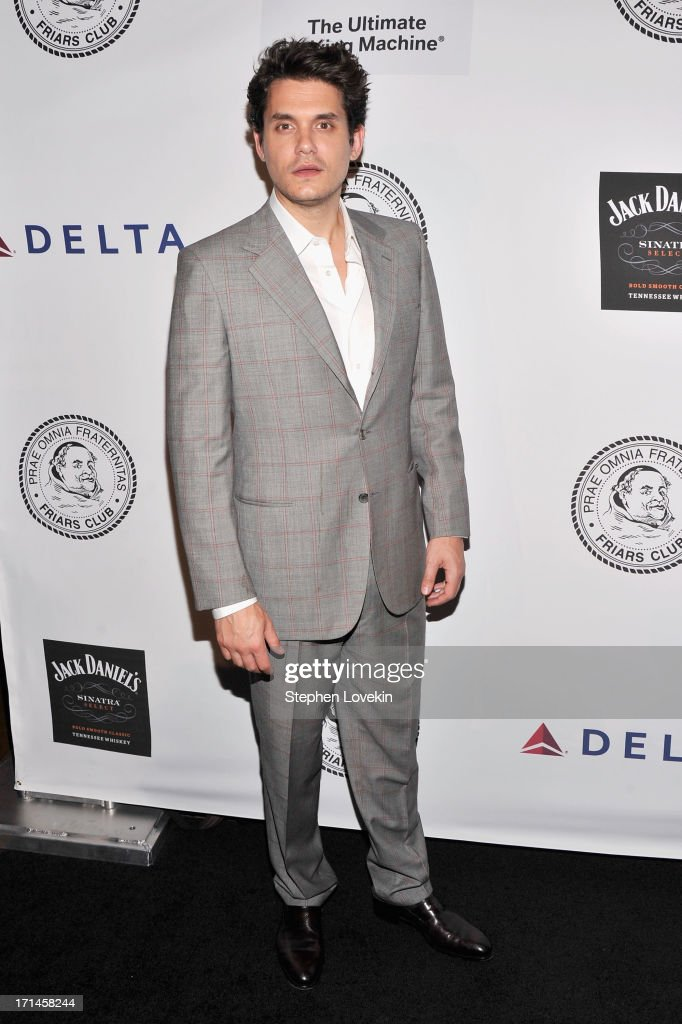 Singer <a gi-track='captionPersonalityLinkClicked' href=/galleries/search?phrase=John+Mayer&family=editorial&specificpeople=201930 ng-click='$event.stopPropagation()'>John Mayer</a> attends The Friars Foundation Annual Applause Award Gala honoring Don Rickles at The Waldorf=Astoria on June 24, 2013 in New York City.
