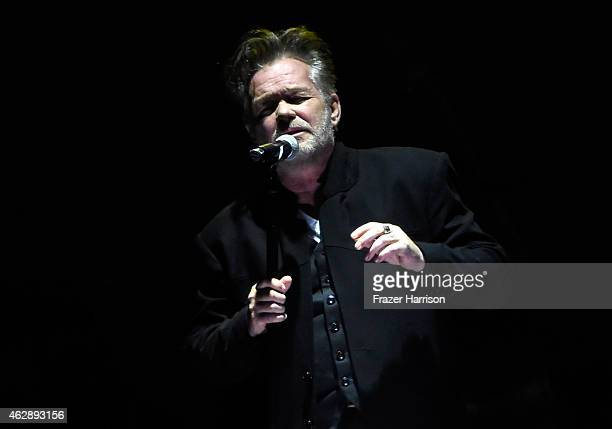 Singer John Mellencamp performs onstage at the 25th anniversary MusiCares 2015 Person Of The Year Gala honoring Bob Dylan at the Los Angeles...