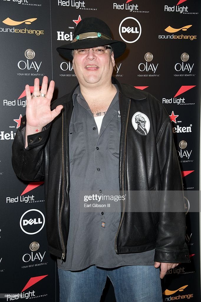 Singer John Popper attends The Grammy Awards Red Light Management After Party at Sky Bar, Mondrian Hotel on January 26, 2014 in West Hollywood, California.