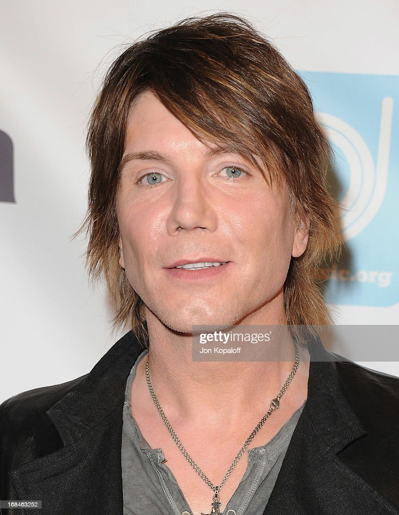 Singer John Rzeznik of the Goo Goo Dolls arrives at the NARM Music Biz 2013 Awards Dinner Party at the Hyatt Regency Century Plaza on May 9, 2013 in Century City, California.