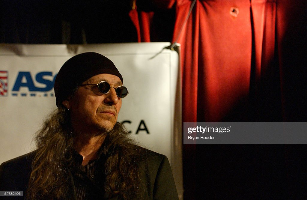 Singer John Trudell performs during the Tribeca Film Festival Music Panel at The ASCAP Lounge. The ASCAP Music Lounge is dedicated to showcasing the exceptional talent of new top emerging artists at the Knitting Factory April 28 2005 in New York City.