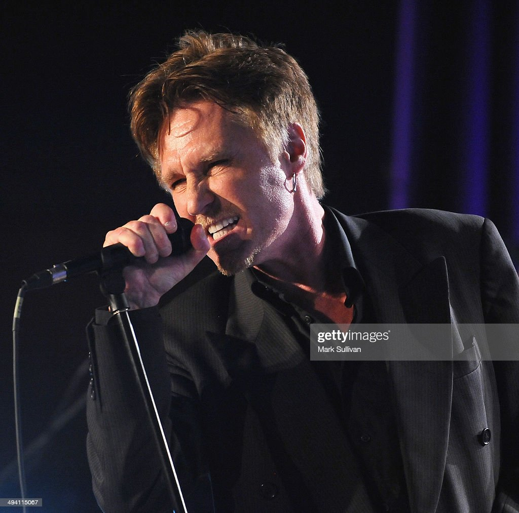 Singer John Waite performs during An Evening with John Waite at The GRAMMY Museum on May 27, 2014 in Los Angeles, California.