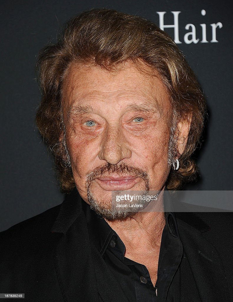 Singer Johnny Hallyday attends the 2013 Pink Party at Hangar 8 on October 19, 2013 in Santa Monica, California.