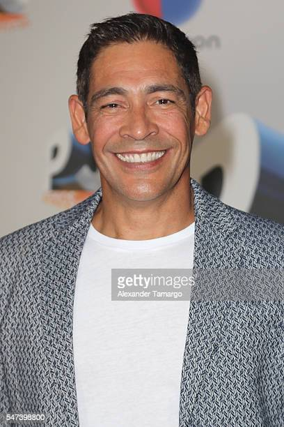 Singer Johnny Lozada attends the Univision's 13th Edition Of Premios Juventud Youth Awards at Bank United Center on July 14 2016 in Miami Florida