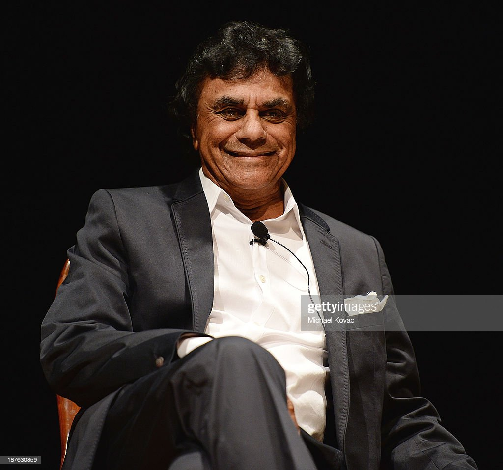Singer Johnny Mathis participates in American Jewish University Presents A Conversation Between Legendary Singer Johnny Mathis and Veteran Talk Show...