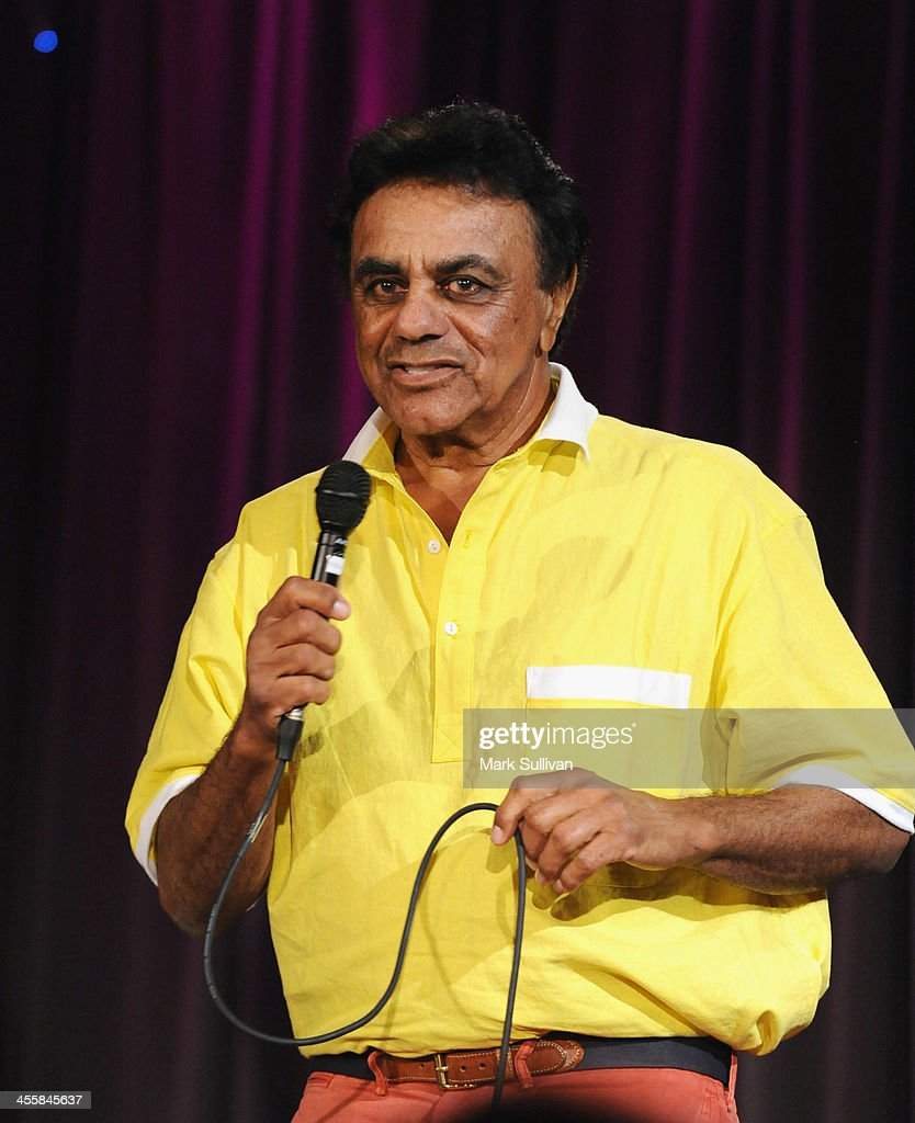 Singer Johnny Mathis performs during An Evening With Johnny Mathis at The GRAMMY Museum on December 12 2013 in Los Angeles California