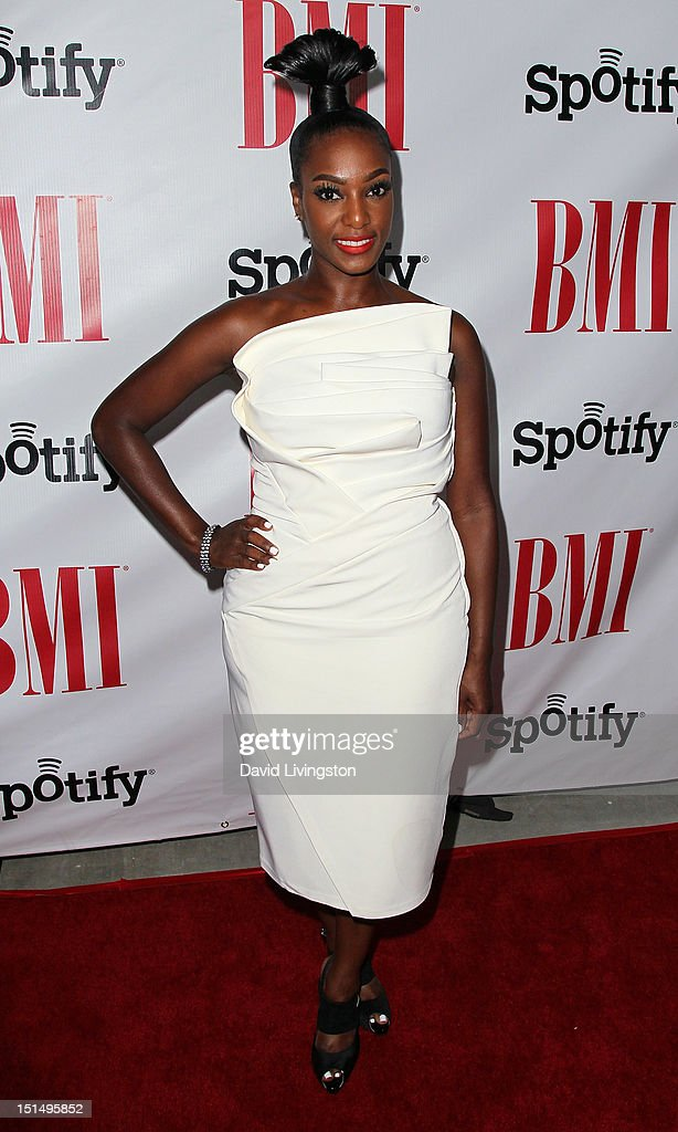 Singer JoiStaRR attends the 12th Annual BMI Urban Awards at the Saban Theatre on September 7, 2012 in Beverly Hills, California.