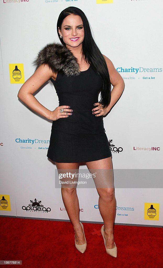 Singer <a gi-track='captionPersonalityLinkClicked' href=/galleries/search?phrase=JoJo+-+Singer&family=editorial&specificpeople=202981 ng-click='$event.stopPropagation()'>JoJo</a> attends apl.de.ap's birthday celebration and launch of 'We Can Be Anything' at The Conga Room at L.A. Live on December 13, 2011 in Los Angeles, California.