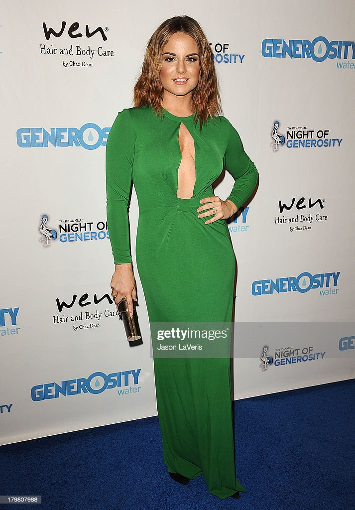 Singer JoJo attends Generosity Water's 5th annual Night of Generosity benefit at Beverly Hills Hotel on September 6, 2013 in Beverly Hills, California.