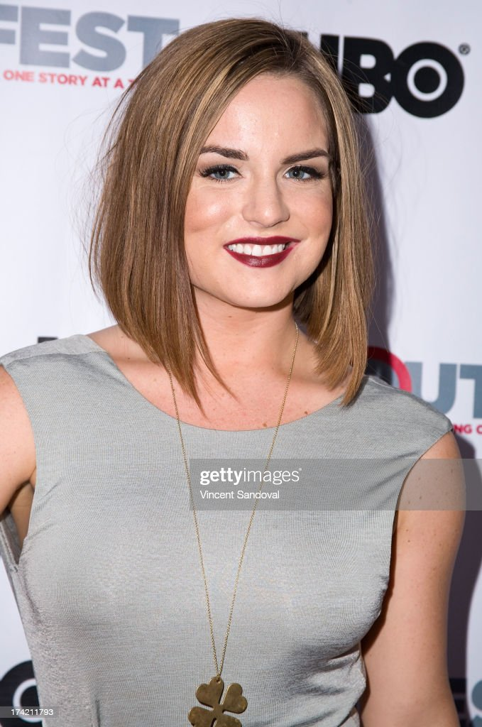 Singer <a gi-track='captionPersonalityLinkClicked' href=/galleries/search?phrase=JoJo+-+Cantante&family=editorial&specificpeople=202981 ng-click='$event.stopPropagation()'>JoJo</a> attends the 2013 Outfest Film Festival closing night gala of 'G.B.F.' at Ford Theatre on July 21, 2013 in Hollywood, California.