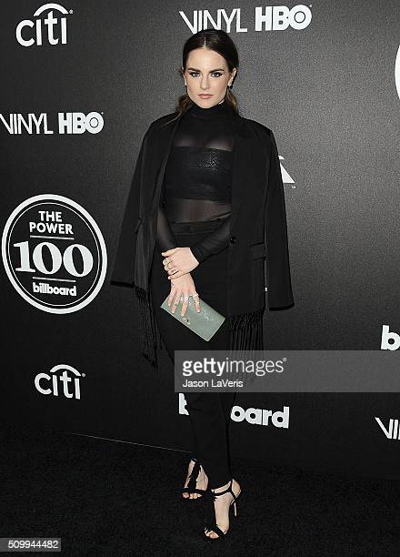 Singer JoJo attends the 2016 Billboard Power 100 celebration at Bouchon on February 12 2016 in Beverly Hills California