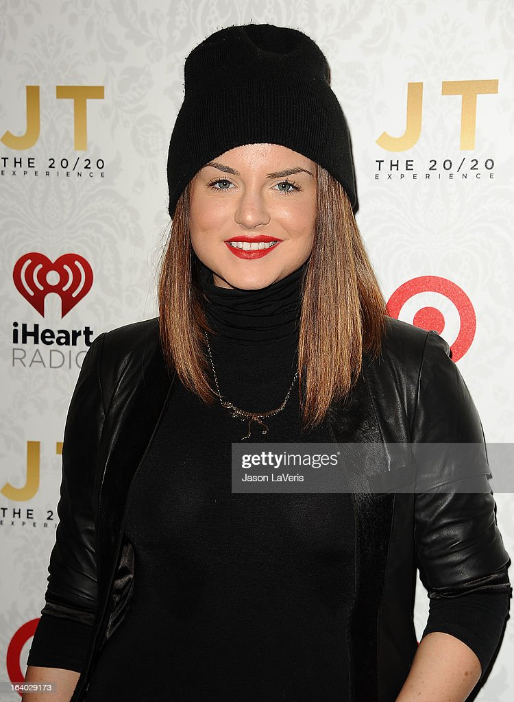 Singer JoJo attends the '20/20' album release party with Justin Timberlake at El Rey Theatre on March 18, 2013 in Los Angeles, California.