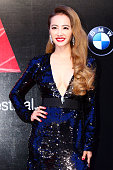 Singer Jolin Tsai arrives at the red carpet of 26th Golden Melody Awards at Taipei Arena on June 27 2015 in Taipei Taiwan