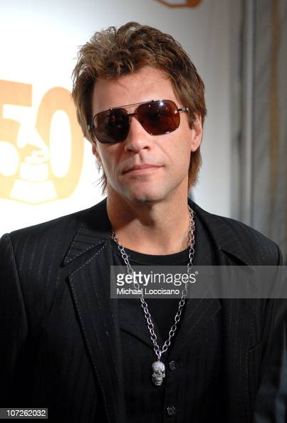 Singer Jon Bon Jovi of Bon Jovi attends the Recording Academy New York Chapter's Tribute to Bon Jovi Alicia Keys Donnie McClurkin and the creators of...