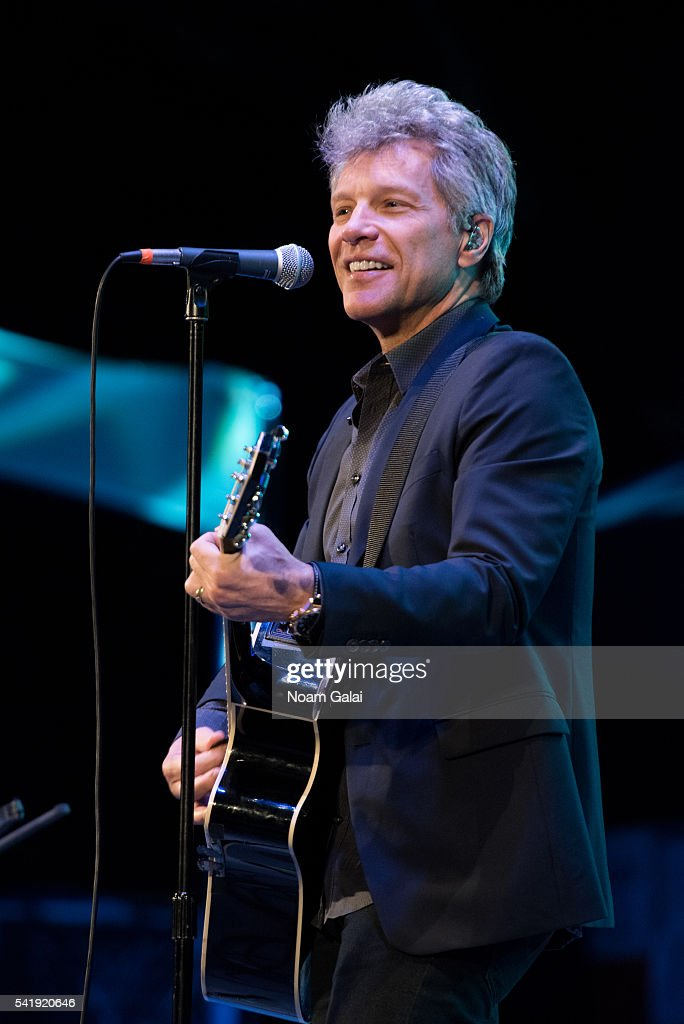 Singer <a gi-track='captionPersonalityLinkClicked' href=/galleries/search?phrase=Jon+Bon+Jovi&family=editorial&specificpeople=201527 ng-click='$event.stopPropagation()'>Jon Bon Jovi</a> performs at the 2016 City Parks Foundation gala at Rumsey Playfield, Central Park on June 20, 2016 in New York City.