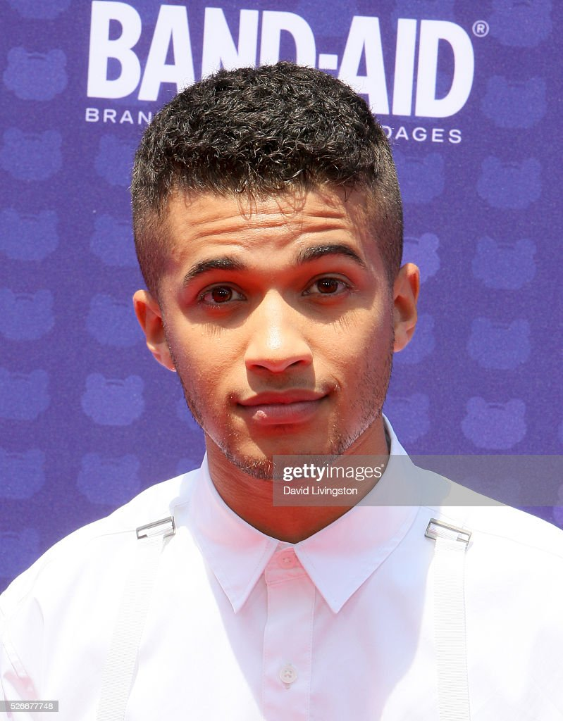 Singer Jordan Fisher attends the 2016 Radio Disney Music Awards at Microsoft Theater on April 30, 2016 in Los Angeles, California.