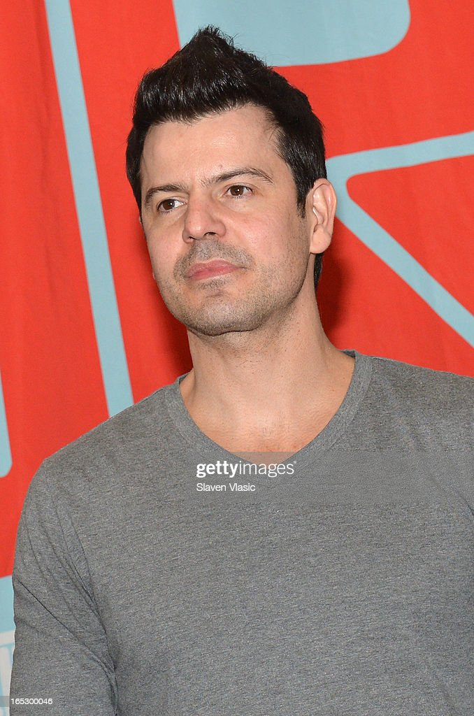 Singer <a gi-track='captionPersonalityLinkClicked' href=/galleries/search?phrase=Jordan+Knight&family=editorial&specificpeople=809007 ng-click='$event.stopPropagation()'>Jordan Knight</a> of New Kids on the Block attends the New Kids on the Block fan meet and greet at J&R Music World on April 2, 2013 in New York City.