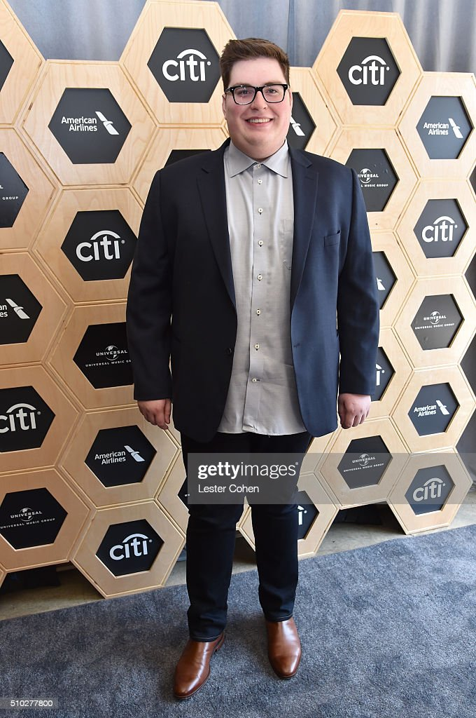 Singer <a gi-track='captionPersonalityLinkClicked' href=/galleries/search?phrase=Jordan+Smith+-+Singer&family=editorial&specificpeople=15225048 ng-click='$event.stopPropagation()'>Jordan Smith</a> attends Lucian Grainge's 2016 Artist Showcase Presented by American Airlines and Citi at The Theatre at Ace Hotel Downtown LA on February 14, 2016 in Los Angeles, California.