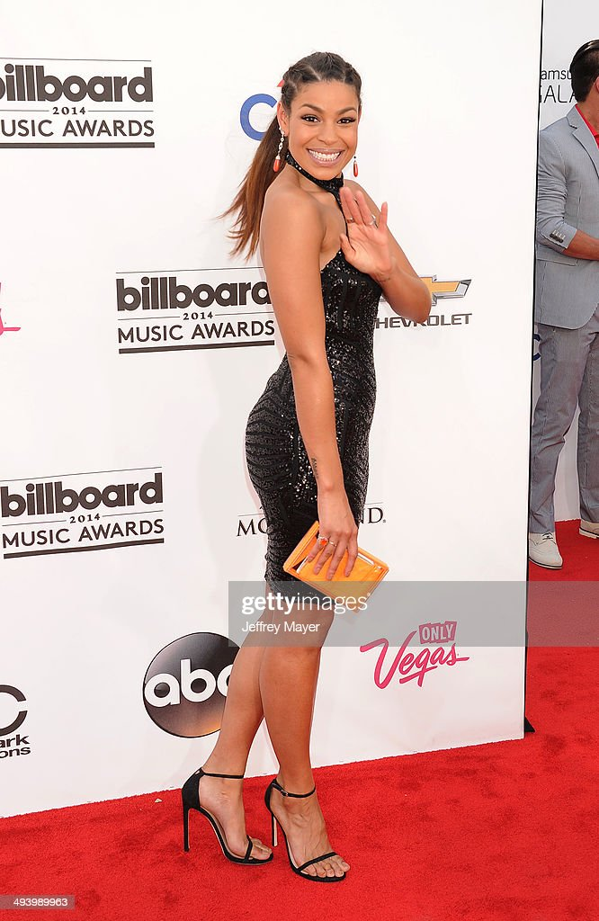 Singer Jordin Sparks arrives at the 2014 Billboard Music Awards at the MGM Grand Garden Arena on May 18 2014 in Las Vegas Nevada