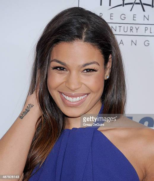 Singer Jordin Sparks arrives at the 21st Annual Race To Erase MS Gala at the Hyatt Regency Century Plaza on May 2 2014 in Century City California