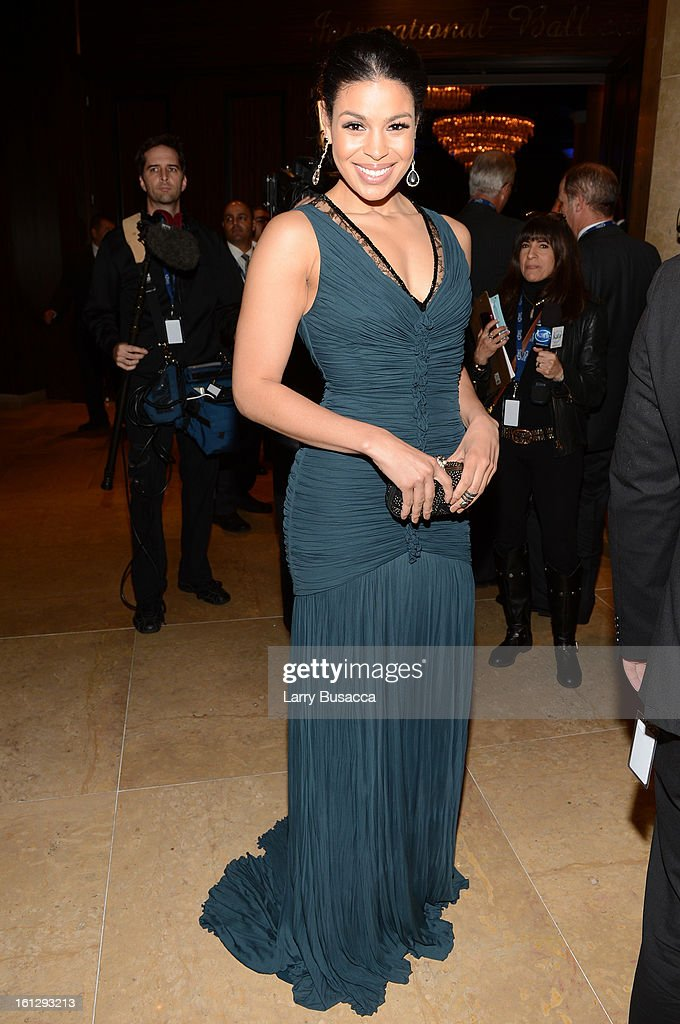 Singer <a gi-track='captionPersonalityLinkClicked' href=/galleries/search?phrase=Jordin+Sparks&family=editorial&specificpeople=4165535 ng-click='$event.stopPropagation()'>Jordin Sparks</a> arrives at the 55th Annual GRAMMY Awards Pre-GRAMMY Gala and Salute to Industry Icons honoring L.A. Reid held at The Beverly Hilton on February 9, 2013 in Los Angeles, California.
