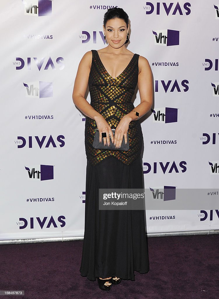 Singer Jordin Sparks arrives at the 'VH1 Divas' 2012 at The Shrine Auditorium on December 16, 2012 in Los Angeles, California.