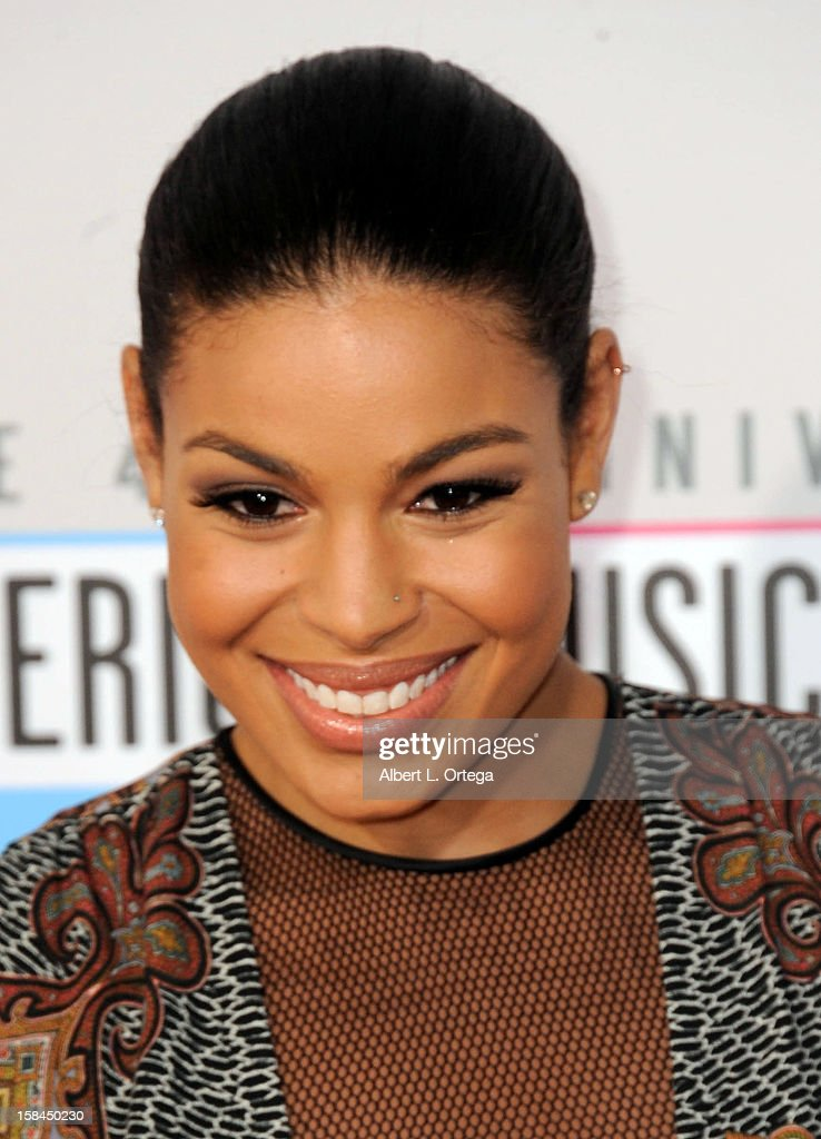 Singer Jordin Sparks arrives for the 40th Anniversary American Music Awards - Arrivals held at Nokia Theater L.A. Live on November 18, 2012 in Los Angeles, California.