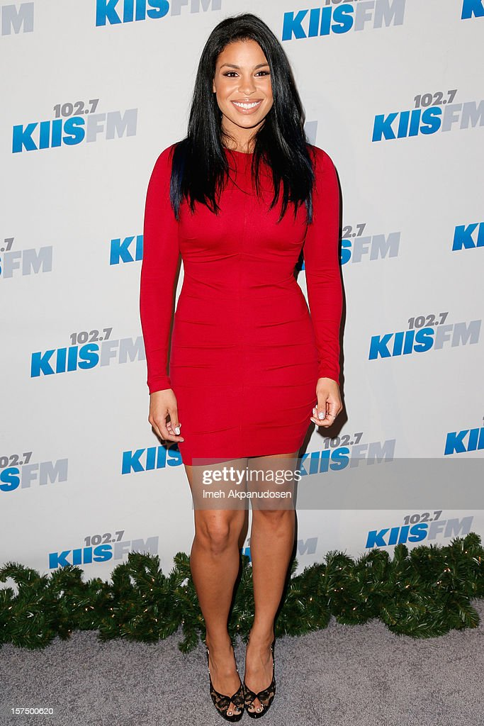 Singer Jordin Sparks attends KIIS FM's 2012 Jingle Ball at Nokia Theatre L.A. Live on December 3, 2012 in Los Angeles, California.