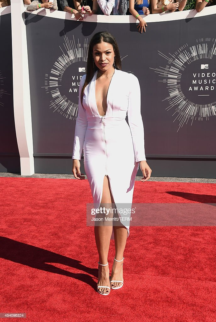 Singer Jordin Sparks attends the 2014 MTV Video Music Awards at The Forum on August 24 2014 in Inglewood California