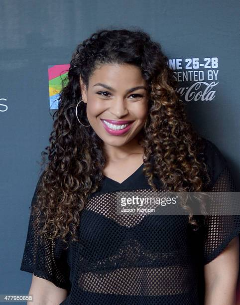 Singer Jordin Sparks attends the 2015 BET Experience Kick Off Concert Presented By Coca Cola on June 20 2015 in Los Angeles California
