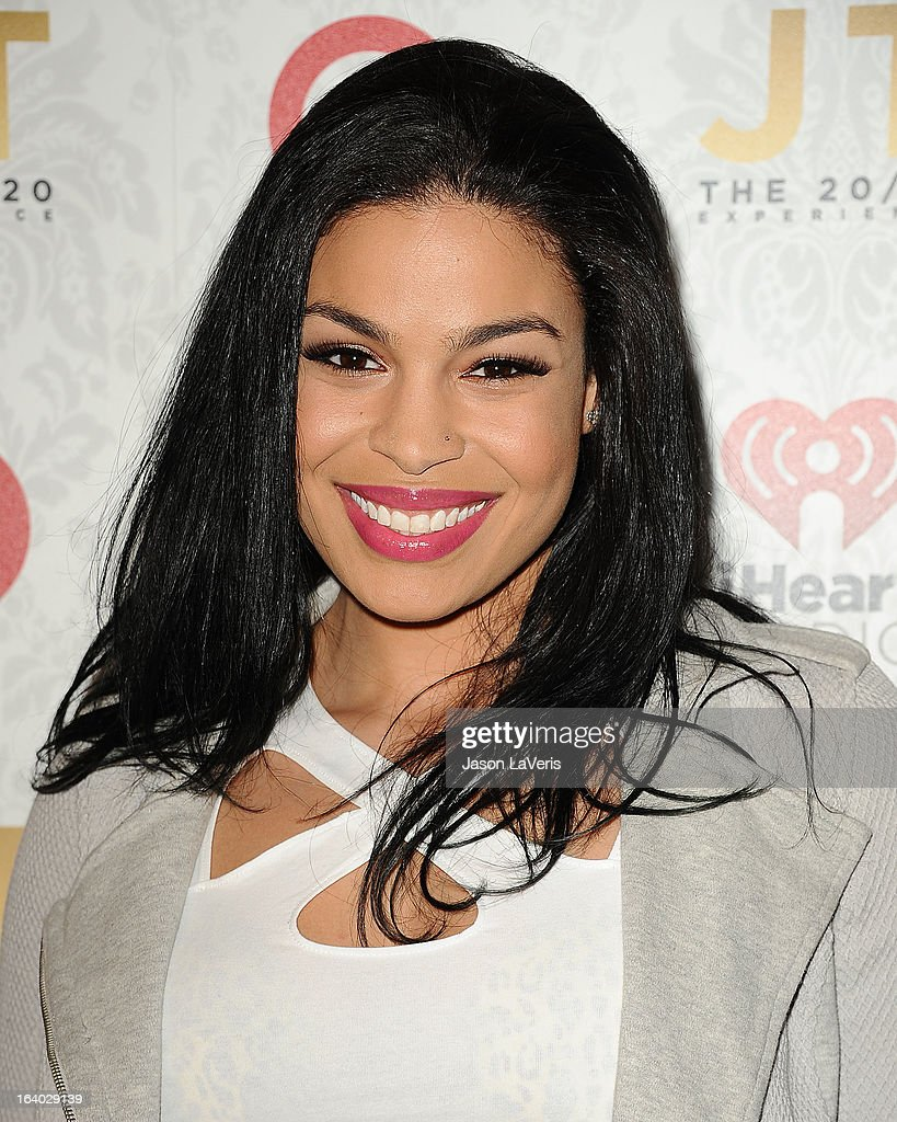Singer Jordin Sparks attends the '20/20' album release party with Justin Timberlake at El Rey Theatre on March 18, 2013 in Los Angeles, California.