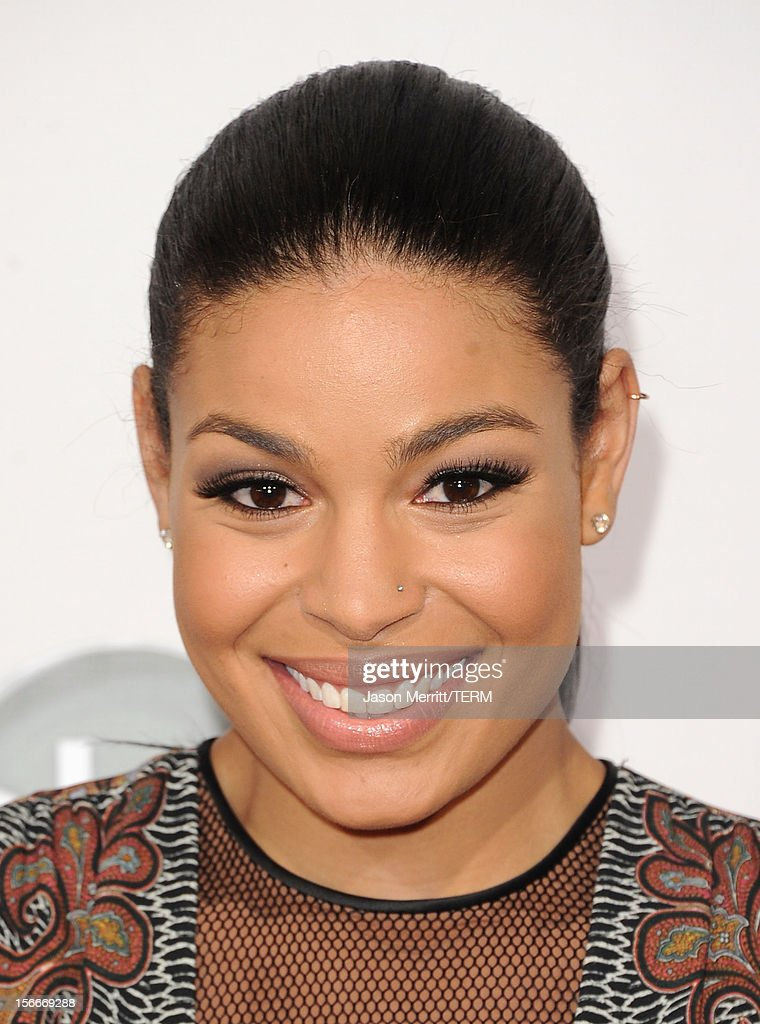 Singer Jordin Sparks attends the 40th American Music Awards held at Nokia Theatre L.A. Live on November 18, 2012 in Los Angeles, California.