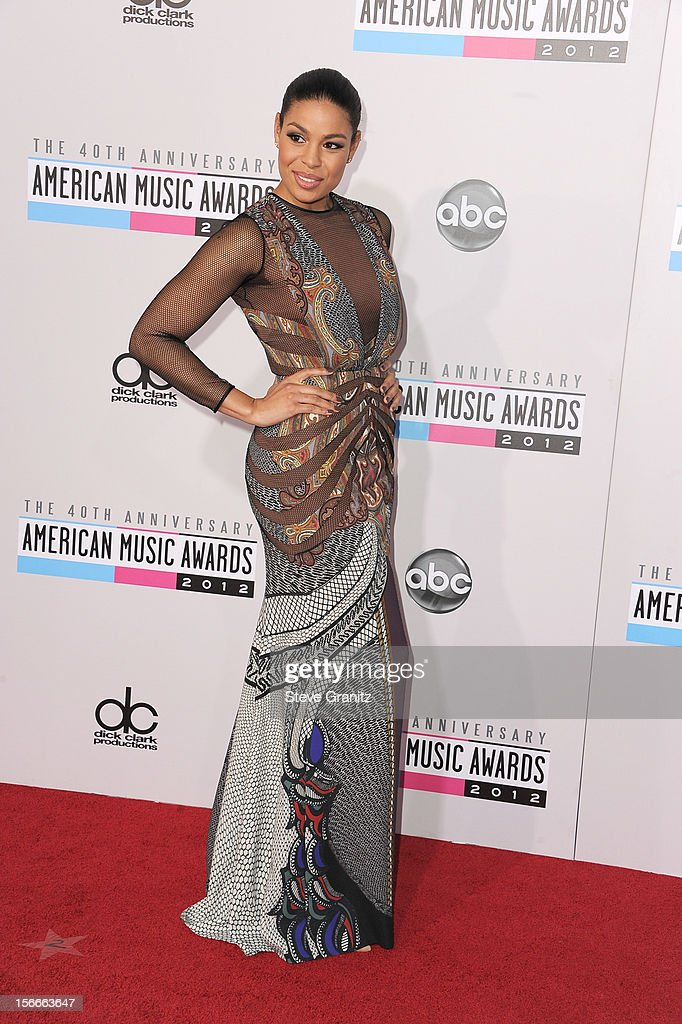 Singer Jordin Sparks attends the 40th Anniversary American Music Awards held at Nokia Theatre L.A. Live on November 18, 2012 in Los Angeles, California.