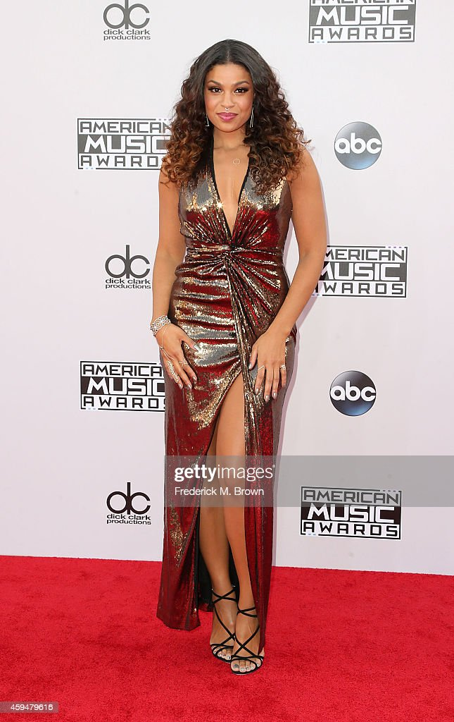 Singer Jordin Sparks attends the 42nd Annual American Music Awards at the Nokia Theatre LA Live on November 23 2014 in Los Angeles California