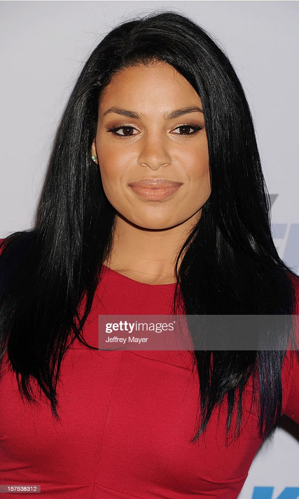 Singer <a gi-track='captionPersonalityLinkClicked' href=/galleries/search?phrase=Jordin+Sparks&family=editorial&specificpeople=4165535 ng-click='$event.stopPropagation()'>Jordin Sparks</a> attends the KIIS FM's Jingle Ball 2012 held at Nokia Theatre LA Live on December 3, 2012 in Los Angeles, California.