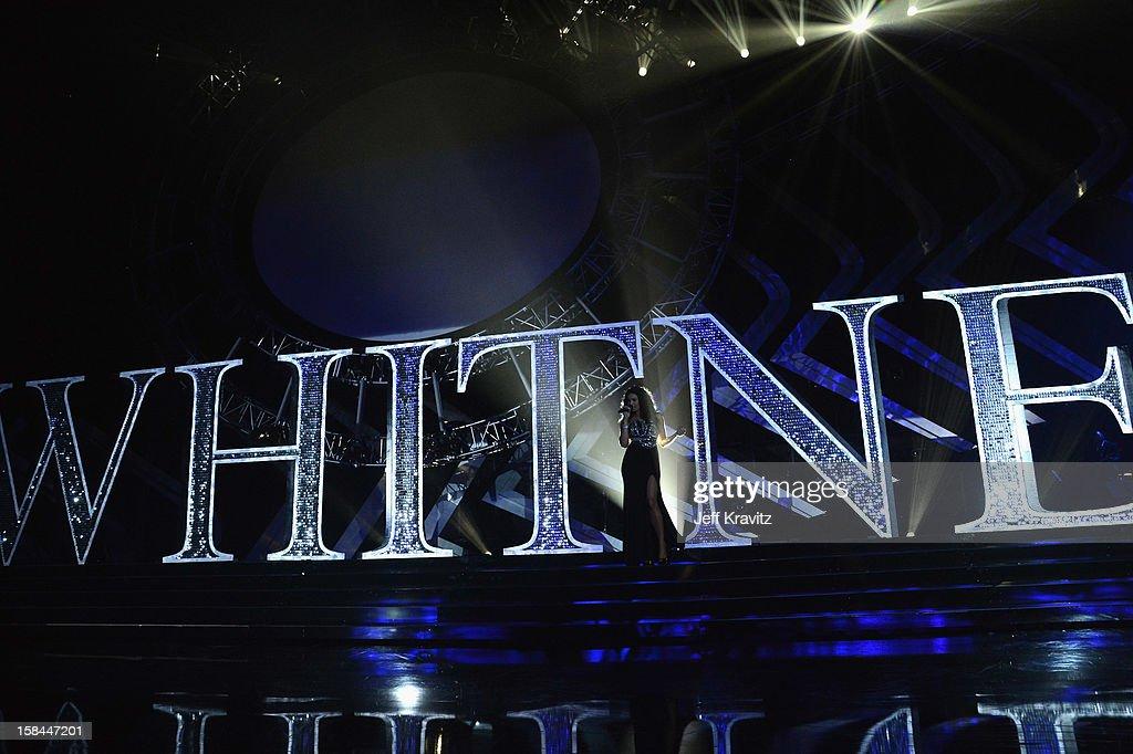 Singer Jordin Sparks performs on stage of 'VH1 Divas' 2012 at The Shrine Auditorium on December 16, 2012 in Los Angeles, California.