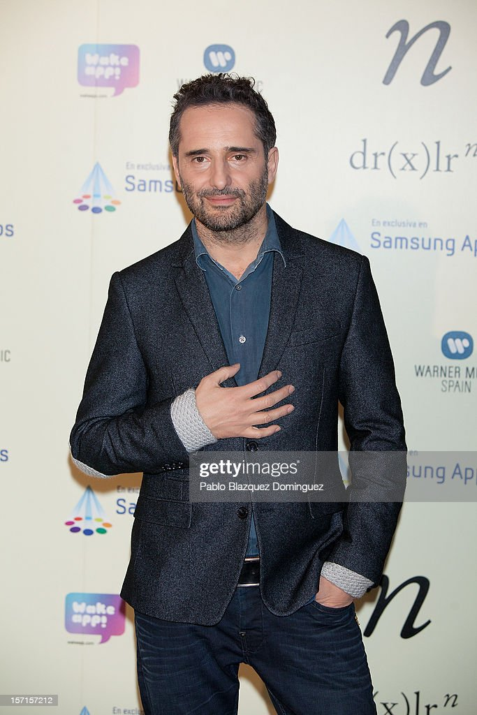 Singer Jorge Drexler presents 'n' new music application at the Telefonica store on November 29, 2012 in Madrid, Spain.