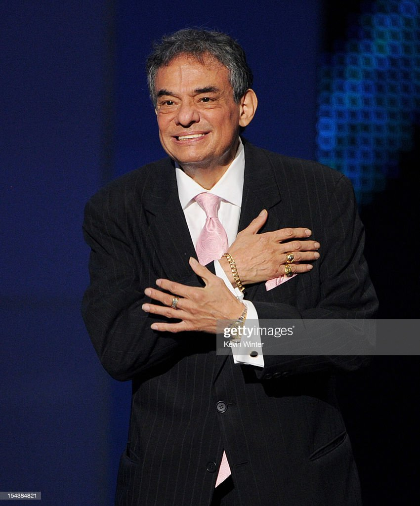 Singer Jose Jose appears onstage at the Billboard Mexican Music Awards presented by State Farm on October 18 2012 in Los Angeles California