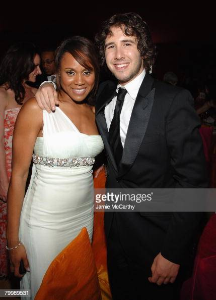 Singer Josh Groban and Singer...