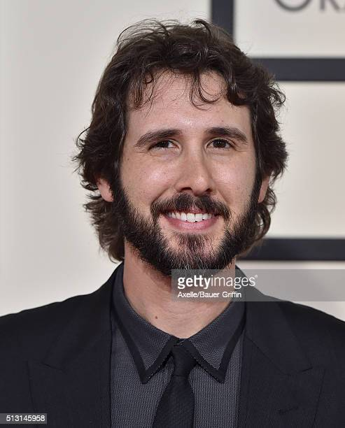 Singer Josh Groban arrives at The 58th GRAMMY Awards at Staples Center on February 15 2016 in Los Angeles California