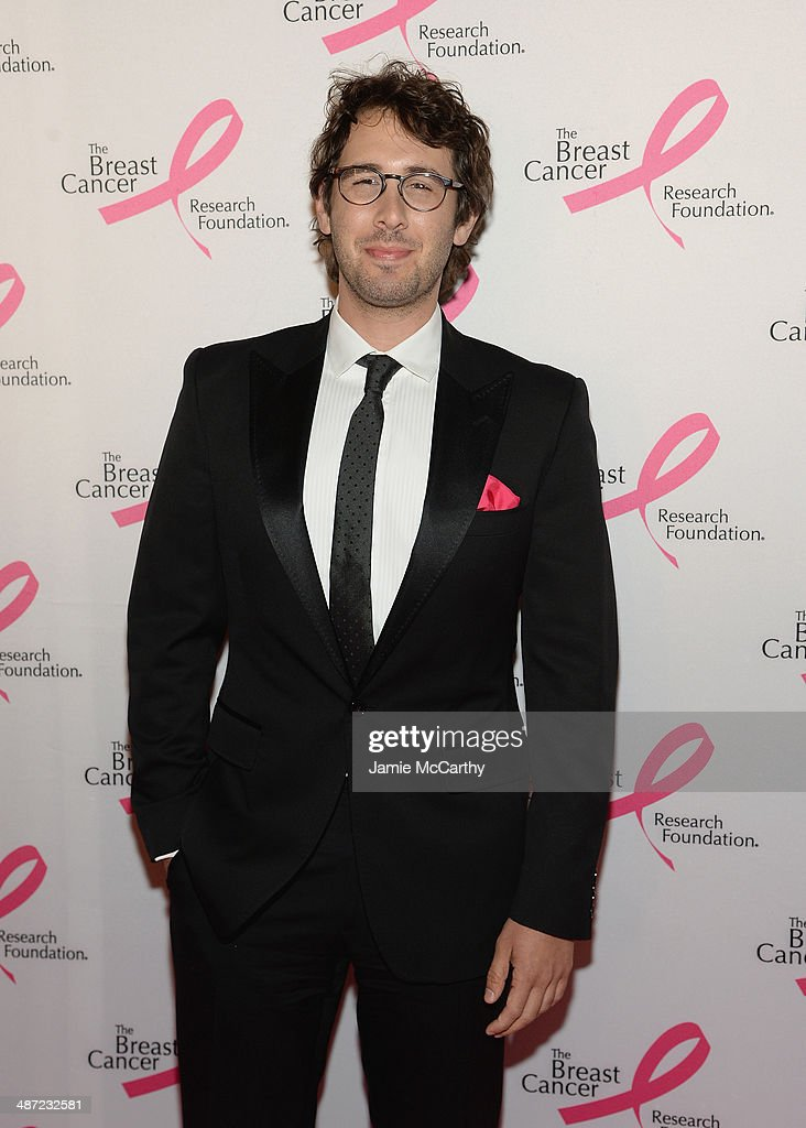 Singer <a gi-track='captionPersonalityLinkClicked' href=/galleries/search?phrase=Josh+Groban&family=editorial&specificpeople=202917 ng-click='$event.stopPropagation()'>Josh Groban</a> attends The Breast Cancer Foundation's 2014 Hot Pink Party at Waldorf Astoria Hotel on April 28, 2014 in New York City.
