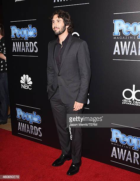 Singer Josh Groban attends the PEOPLE Magazine Awards at The Beverly Hilton Hotel on December 18 2014 in Beverly Hills California
